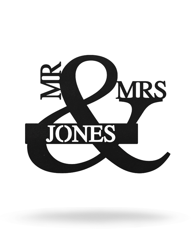Mr & mrs Monogram