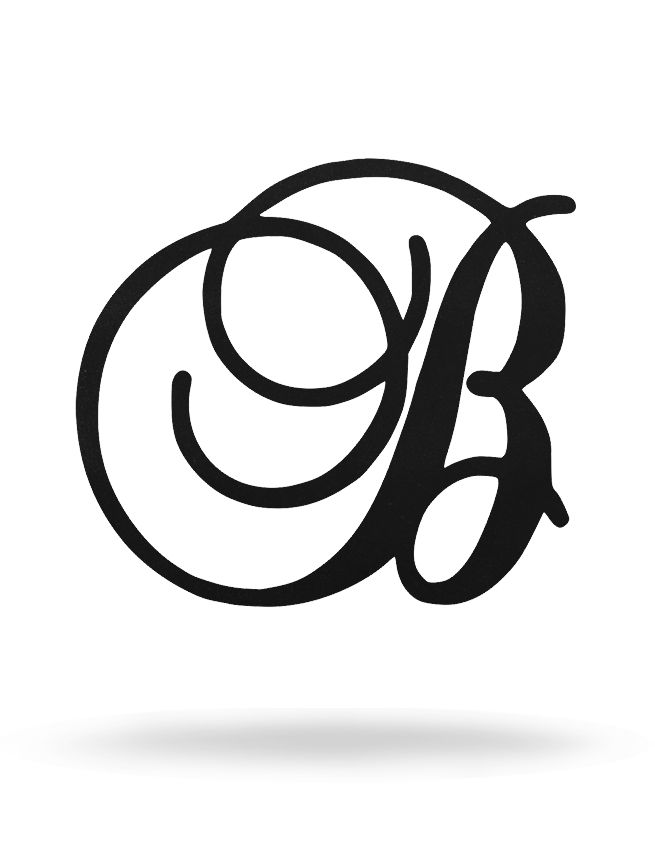 Script Single Monogram