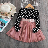 Load image into Gallery viewer, Older girls tutu bow dress