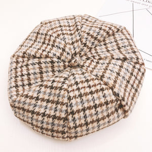 Girls tweed beret