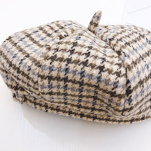Load image into Gallery viewer, Girls tweed beret