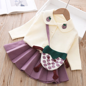 super cute three piece girls set