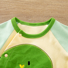Load image into Gallery viewer, Newborn boys dinosaur babygrow.