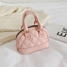 Load image into Gallery viewer, Mini pink handbag with gold chain