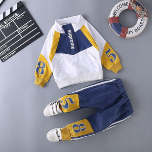 Trendy younger boys tracksuit