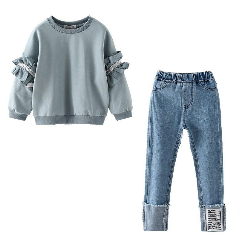 Jumper and jeans set
