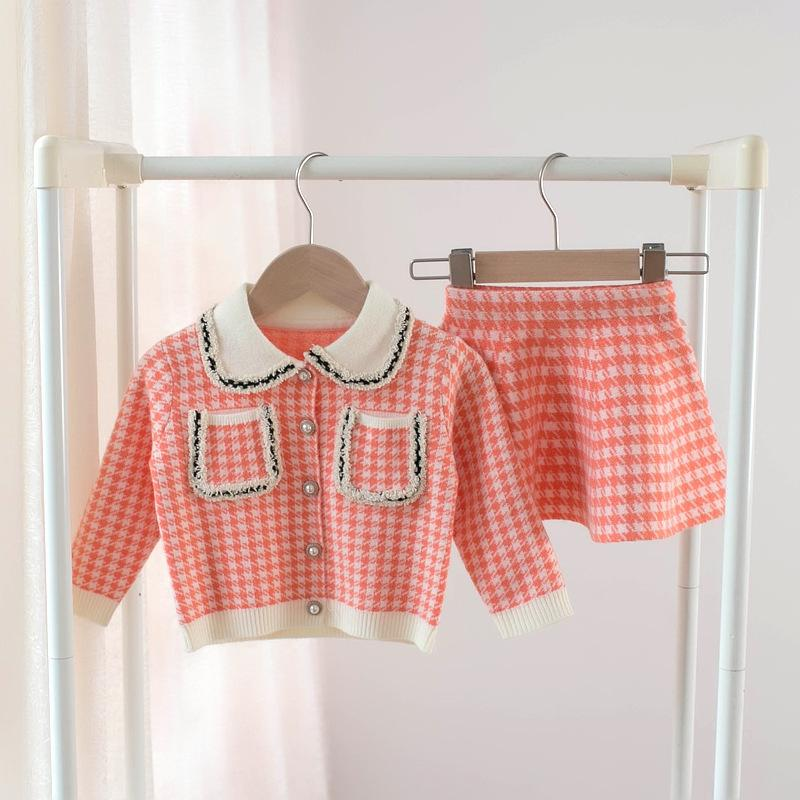 Younger girls Shirt and cardigan set