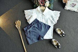 Shirt and shorts set