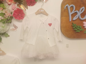 Baby Tutu set with cardigan
