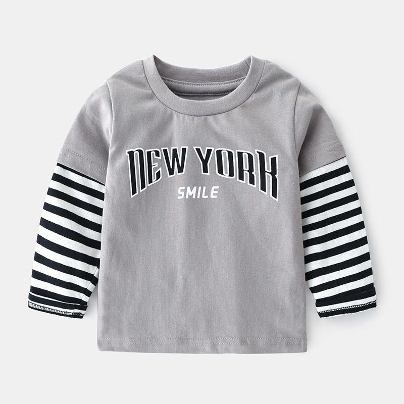 Casual grey boys top.