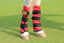 Lade das Bild in den Galerie-Viewer, Horse Armor knockdown leg wraps one size (Insect shield)