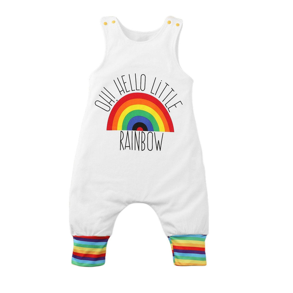 Little Rainbow Toddler and Baby sleeveless romper