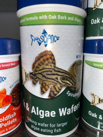 Fishscience - Oak & Algae Wafer