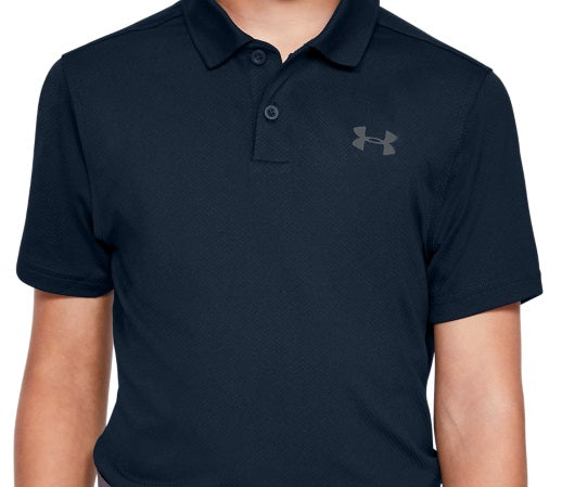 UA BOYS PERFORMANCE POLO 2.0