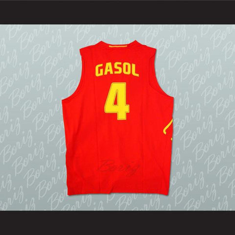 get 2014 fiba team spain 4 pau gasol revolution 30 swingman red jersey  47964 1f0e5  italy did you know that pau gasol is a member of the spanish  national ... 5865bf685