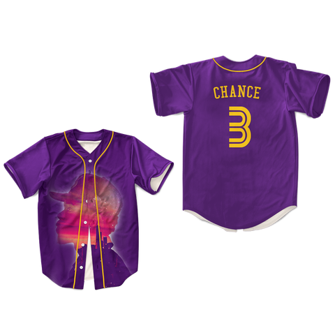 chance Acid Rap Baseball Jersey