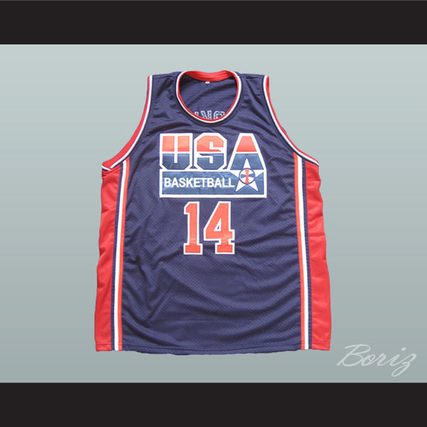 USA Dream Team Basketball Jersey Any Player or Number Custom Made - borizcustom
