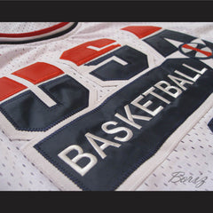 Michael Jordan Dream Team 1992 Retro Basketball Jersey USA 9 All Sizes - borizcustom