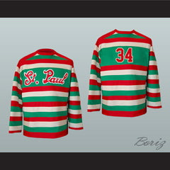 1934-1935 St Paul Saints Hockey Jersey Any Number New - borizcustom