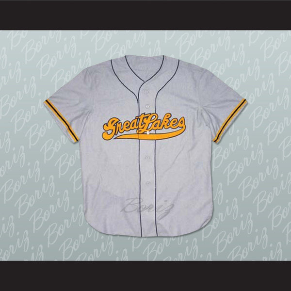 1943 Great Lakes Naval Station Baseball Jersey Stitch Sewn - borizcustom