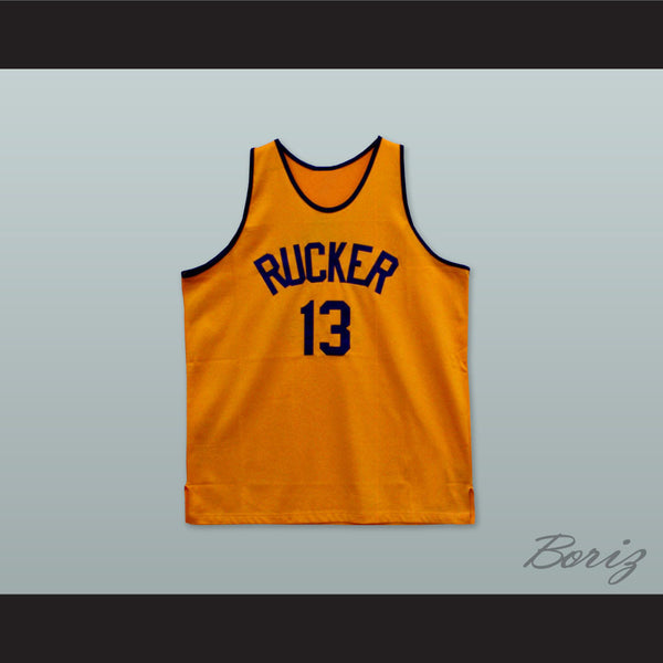 1946 Rucker Park NYC 13 Orange Basketball Jersey - borizcustom - 1