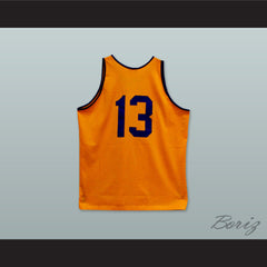 1946 Rucker Park NYC 13 Orange Basketball Jersey - borizcustom - 2