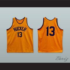 1946 Rucker Park NYC 13 Orange Basketball Jersey - borizcustom - 3