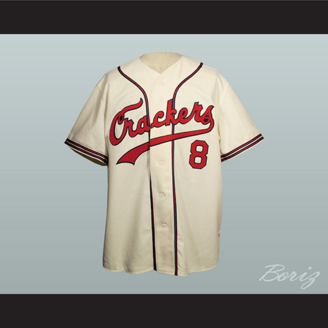 1957 Replica Atlanta Crackers Button-Down Baseball Jersey New - borizcustom