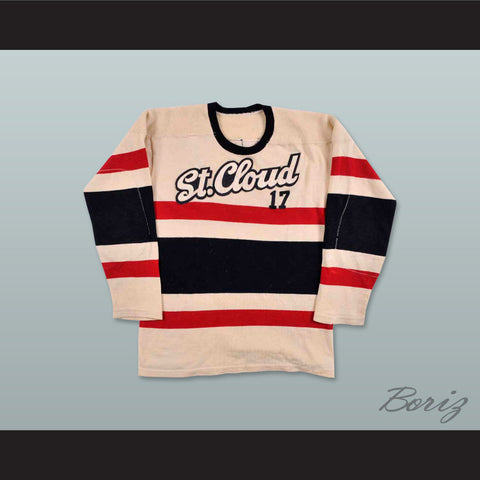 1960's St. Cloud State Huskies Hockey Jersey - borizcustom