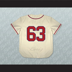 1963 Billings Mustangs Baseball Jersey Any Player or Number Stitch Sewn - borizcustom