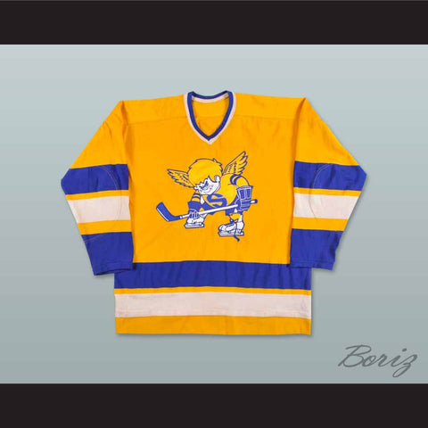 1972-73 Minnesota Fighting Saints Hockey Jersey - borizcustom