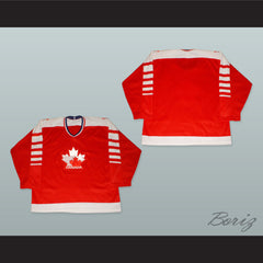 1982 Canada Hockey Jersey with Embroidered Patches - borizcustom - 5
