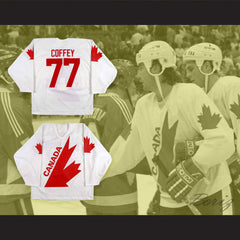 1987 Paul Coffey 77 Team Canada Canada Cup Hockey Jersey