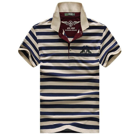 High quality brand men polo shirt new summer casual striped cotton men's solid polo shirt polo ralp men camisa polo homme