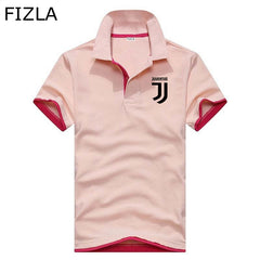 2018 Casual polo shirt Men polo shirt brands men print Juventus polo shirts cotton Short sleeve men clothes jerseys golftennis