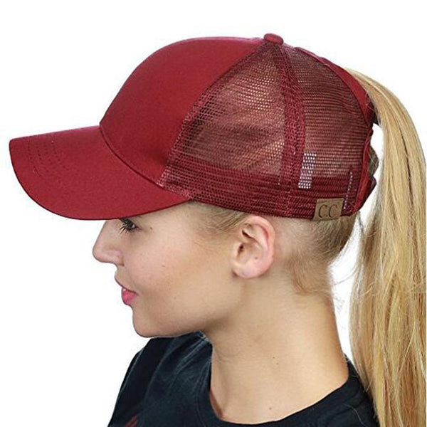 f4e7bb309dd ... 2018 Summer CC Glitter Ponytail Baseball Cap Dad Hats for Women Hip Hop Caps  Messy Bun ...