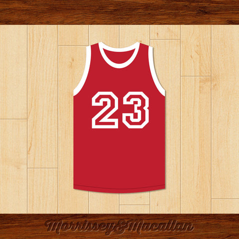 Iconic Number 23 Basketball Jersey by Morrissey&Macallan - borizcustom
