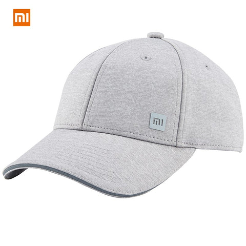 original Xiaomi mi Baseball Cap 3 Colors Unisex hat Popular Design Sweat Absorption Reflective Snapback Hip Hop For Men Women