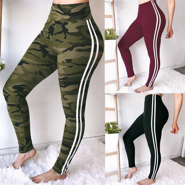 5c87f00f1967c Woman Pants Sporting Legging Casual Slim Sexy Camouflage Pants Trouser