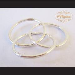 P Middleton Triple Intercross Vesica Piscis Ring Sterling Silver 92.5% - borizcustom - 4