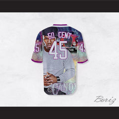 50 Cent 45 Candy Shop Luxury Car Night Football Jersey