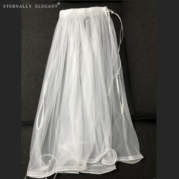 73798f16b1f5 ... Free Shipping Gather Skirt Slip New Bridal Wedding Dress Buddy Petticoat  Underskirt Save You From Toilet
