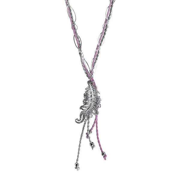 Rodeo Bling Necklace- Rose