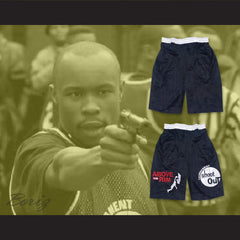 Above The Rim Tournament Shoot Out Black Basketball Shorts - borizcustom