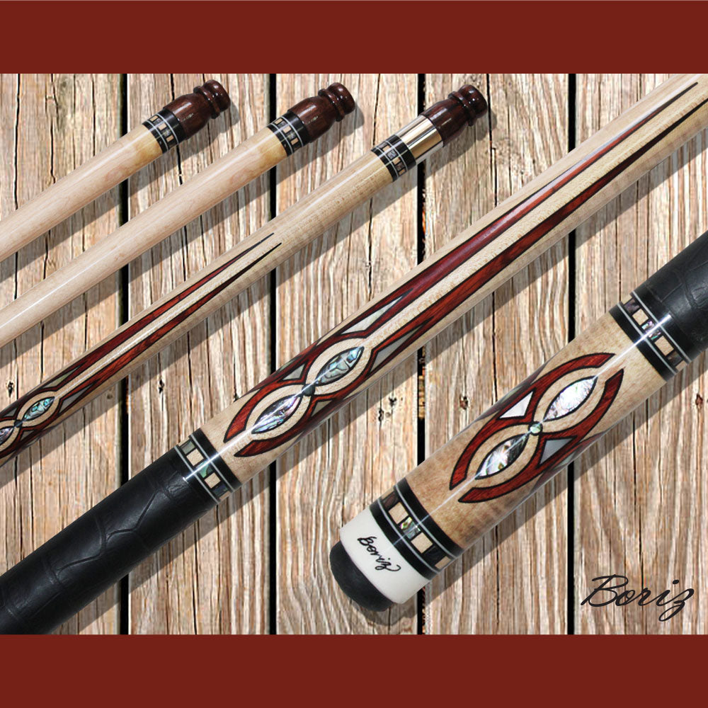 Boriz Billiards Pool Cue Stick Classic Style With Joint