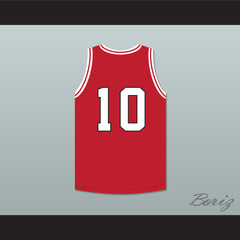 Arthur Agee 10 St Joseph High School Red Basketball Jersey Hoop Dreams - borizcustom