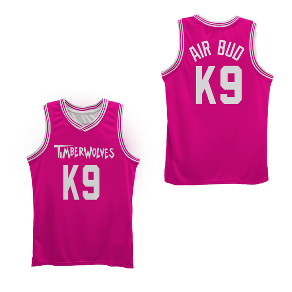 Air Bud K9 Timberwolves Blue Basketball Jersey