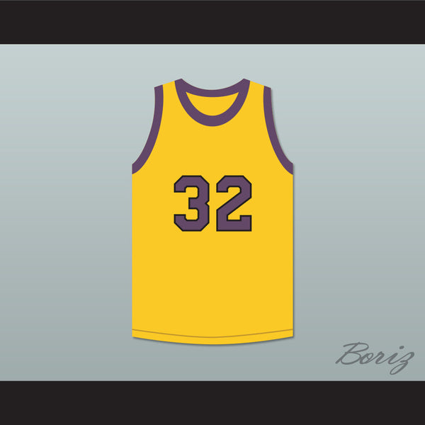 Air Gordon 32 Yellow Basketball Jersey Martin - borizcustom
