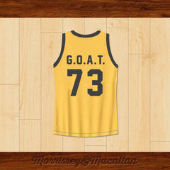 Boxer Muhammad Ali Basketball Jersey G.O.A.T. by Morrissey&Macallan - borizcustom