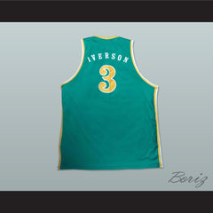 Allen Iverson Bethel High School Basketball Jersey NEW Stitch Sewn Any Size - borizcustom